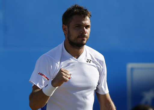 Wawrinka Wins as Berdych Sent Packing at Queen's Club
