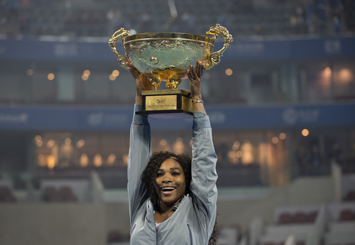 Serena Beats Jankovic; Claims 10th Title of Season in Beijing