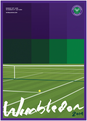 Wimbledon Reveals Winning Design in Poster Contest
