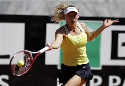 Wozniacki Dishes Out Double Bagel Win in Istanbul