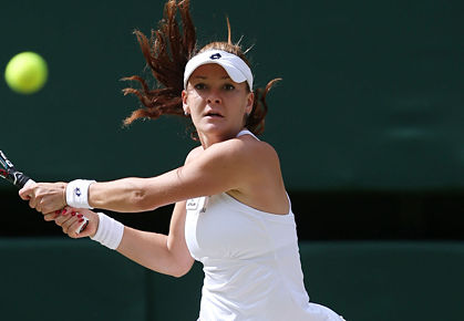 Agnieszka Radwanska will be a flagbearer for Poland at the 2012 Summer Olympics in London