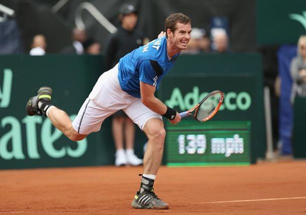 Murray Shines and Ward Shocks Querrey as Great Britain Sweep