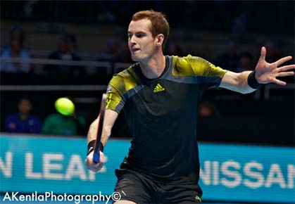 Andy Murray - ATP World Tour Finals London