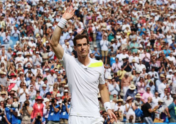 Murray Opens Grass-Court Season with Win over Mathieu