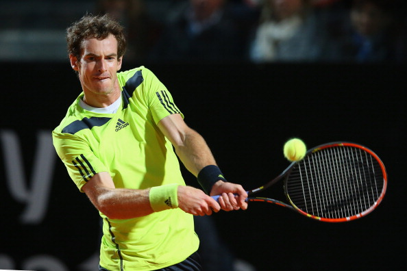 Video: Murray Sneaks a Dazzling Squash Shot by Nadal in Rome