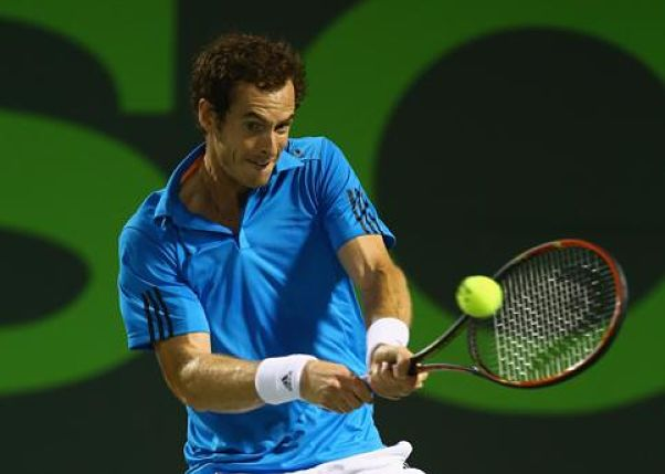 Video: Andy Murray's Beautiful Turn-Around Backhand Winner