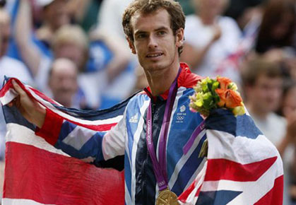 Andy Murray wins Olympic Gold