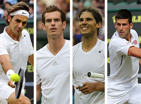 Breaking Down the Big Four Ahead of Wimbledon's Second Week   - Tennis Now