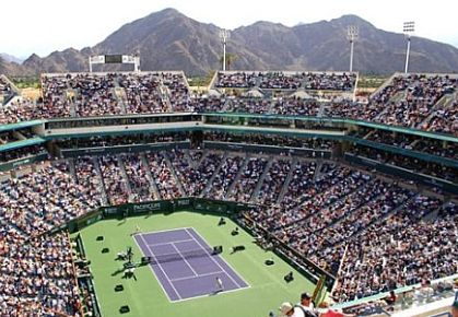 Indian Wells, main stadium