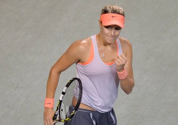 Bouchard Reaches First Career Final in Osaka, Will Face Stosur