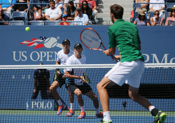Bryan Brothers Clinch World Group Playoff for U.S. Over Slovakia