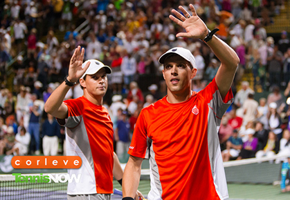 Bryan Brothers Win First Indian Wells-Miami Double of Career