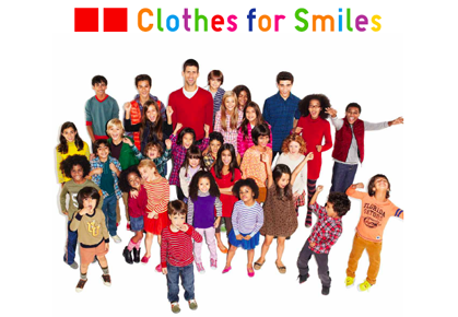Novak Djokovic and Clothes for Smiles campaign