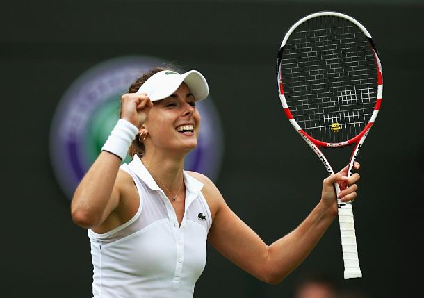 Alize Cornet Shocks Serena Williams at Wimbledon