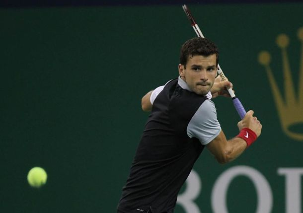 Dimitrov, Gasquet Move on in Shanghai