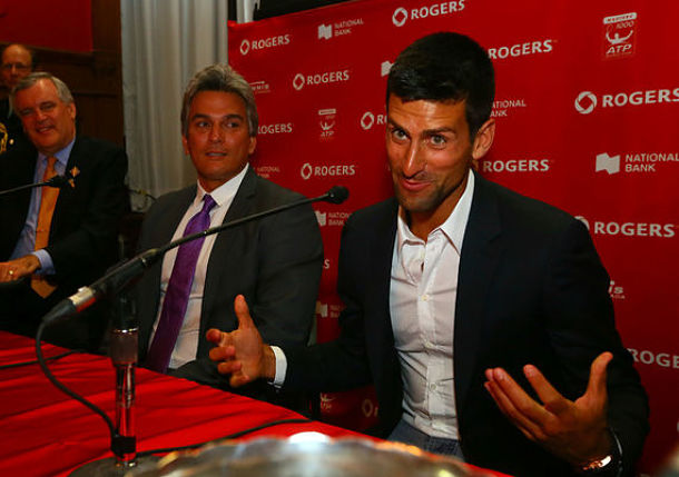 Djokovic, Raonic in Same Half of Rogers Cup Draw