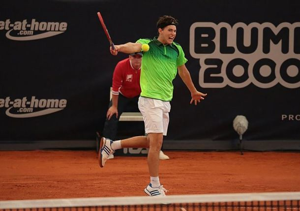 Thiem Wins Battle of Young Guns in Hamburg