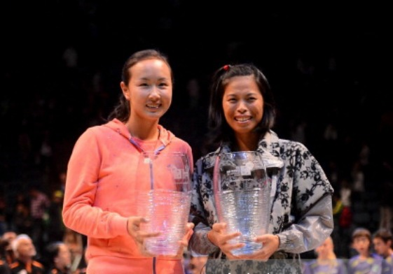 Hsieh and Peng Win WTA Championships Doubles Title