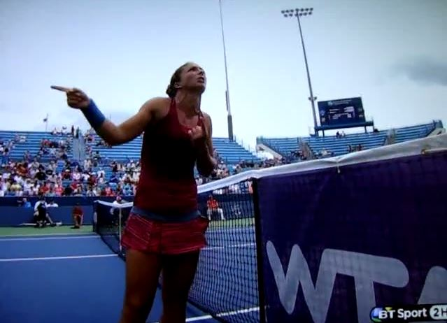 Video: Sara Errani Goes Ballistic After Horrible Overrule in Cincinnati