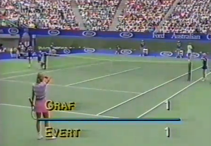 "Flashback: 'Golden"" Graf in 1988 AO Final"
