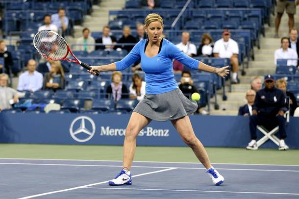 Chris Evert Exhibition