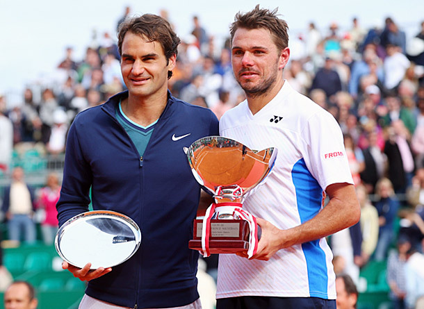 Video: Despite Loss in Monte-Carlo, Federer Very Happy for Buddy Wawrinka
