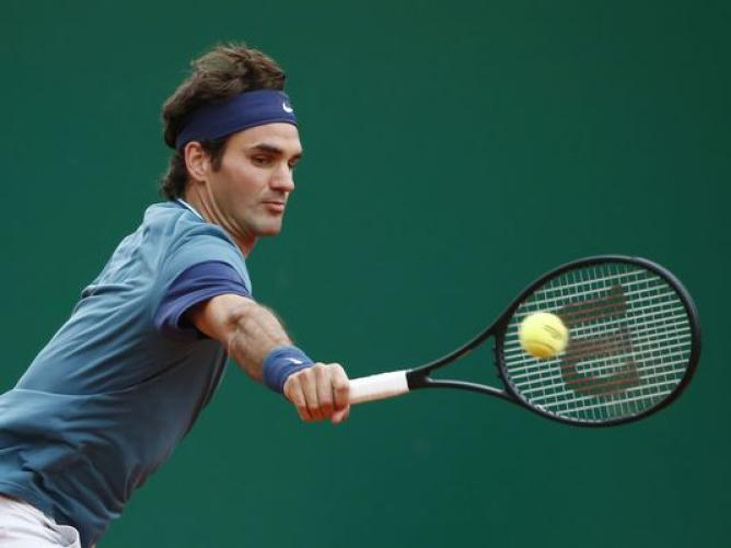 Video:  Federer Snaps a Down-the-Line Backhand Past Tsonga in Monte-Carlo
