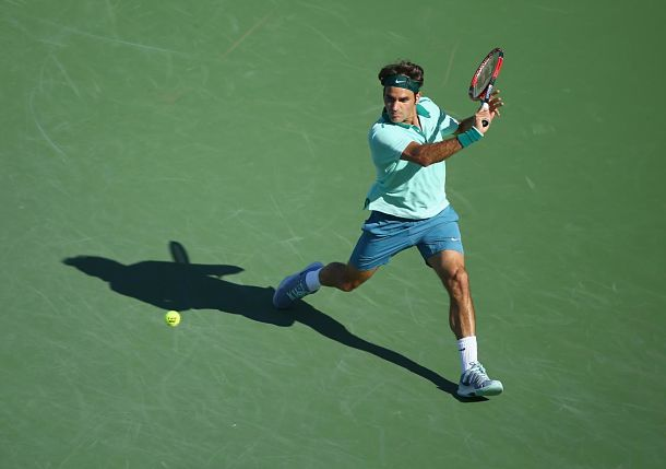 Federer Notches Masters Milestone with Win over Pospisil