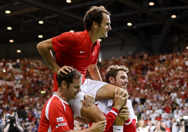 Federer Leads Swiss to First Davis Cup Final in 22 Years