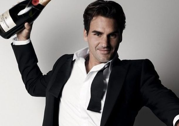 "Roger Federer Is Top-Ranked Tennis Player on ESPN's ""World Fame 100"""