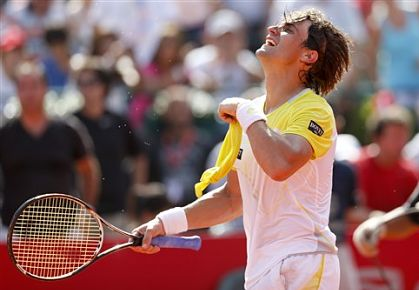 David Ferrer wins first Masters Series title