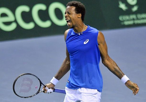 Monfils Completes French Fightback in Nancy