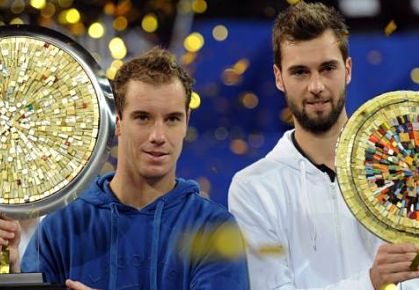 Gasquet Thumps Paire for Second Title of 2013