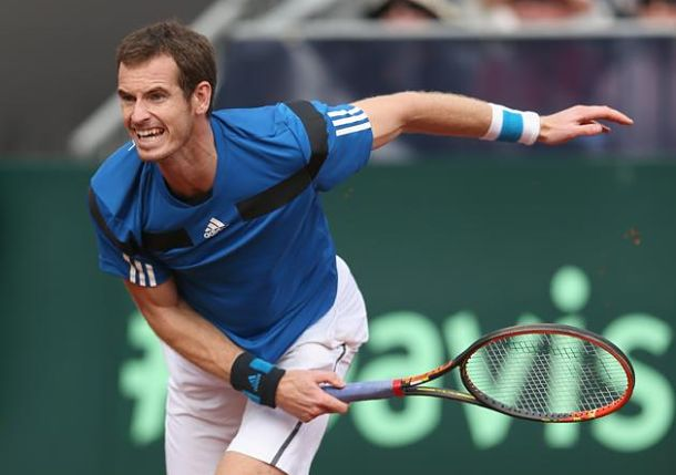 Murray Sends Great Britain to First World Group Quarterfinal Since 1986