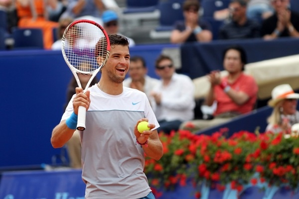 Grigor Dimitrov reaches the semifinals in Gstaad 2012