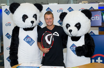 ATP Stars Visit Citibank Branches in D.C.