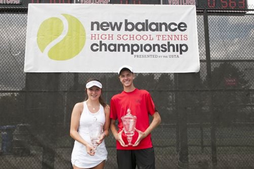 New Champions Claim Inaugural New Balance High School Tennis Championships