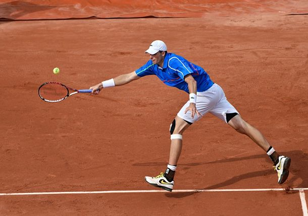 John Isner French Open 2014