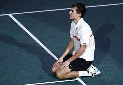 Jerzy Janowicz reaches the final of the BNP Paribas Masters in Paris