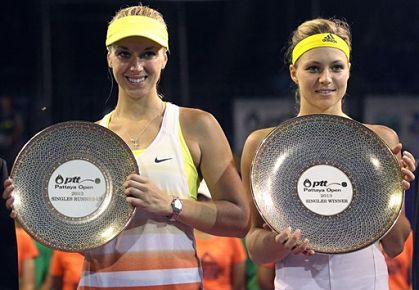 Kirilenko and Lisicki, Pattaya final, 2013