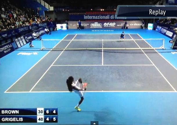 Video: Dustin Brown Hits Mind-Blowing Running Tweener