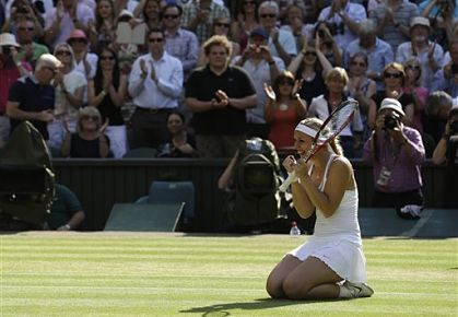Lisicki Reaches Wimbledon Final