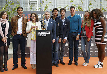 Madrid Draw Ceremony 2013