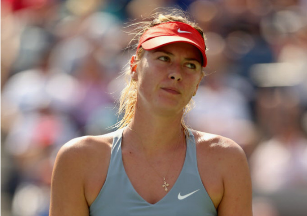 Maria Sharapova US Open loss