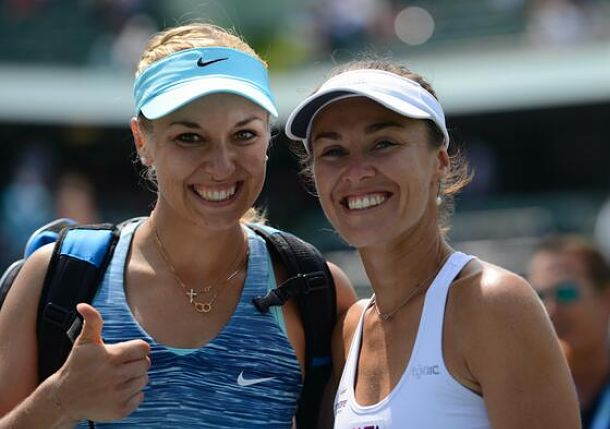 Lisicki and Hingis Reach Miami Doubles Final