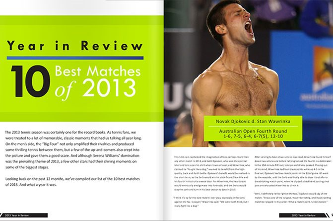 The 10 Best Matches of 2013