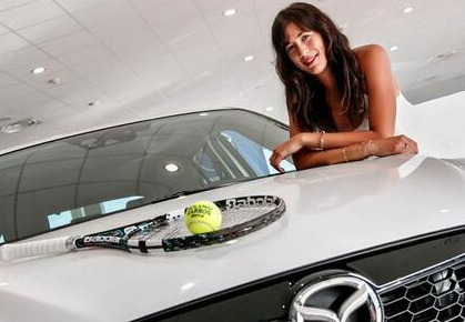 Garbine Muguruza Becomes Ambassador for Mazda Spain