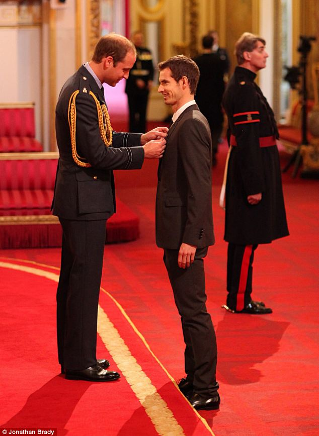 Andy Murray Receives Royal Honor Despite Unexpected Morning Visit