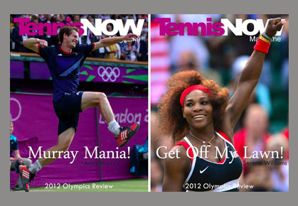 Tennis Now Magazine - Olympics Wrap-Up