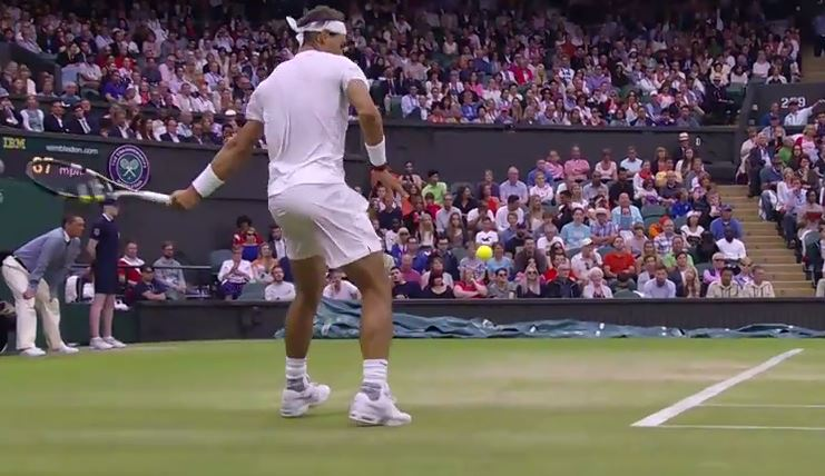 Video: Nadal Finds His Comfort Zone on Grass